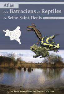 Atlas des Batraciens et Reptiles de Seine-Saint-Denis.